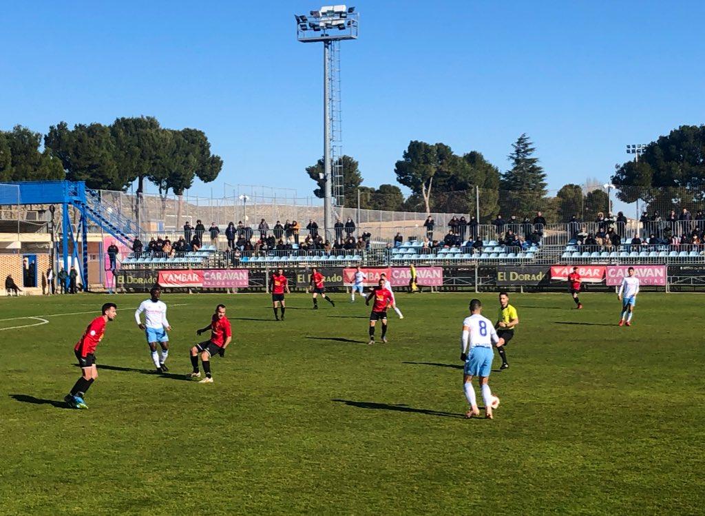 Un lance del Deportivo Aragón-San Juan (Foto: RZ).