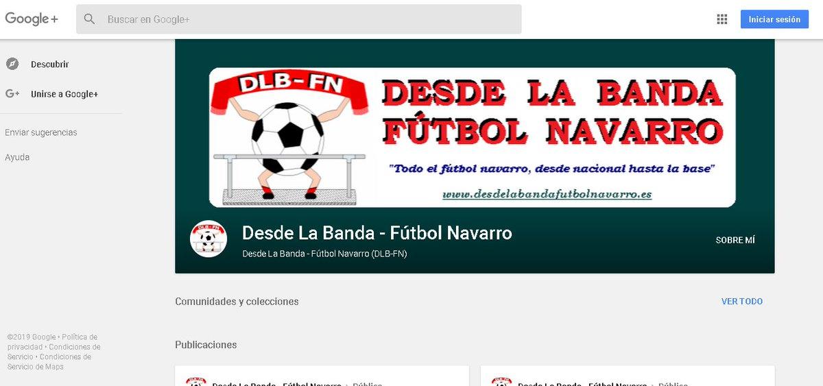 Desde La Banda - Fútbol Navarro (DLB-FN) | Perfil en Google Plus de Desde La Banda - Fútbol Navarro.