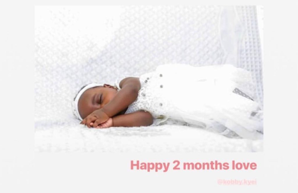 Love from uncle baby Kendra ❤️😊 @kobby_kyei