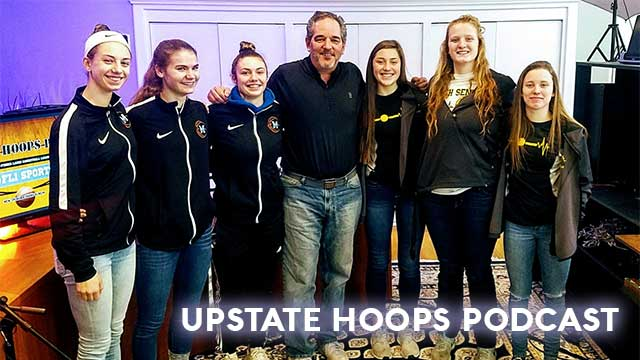 Midlakes & South Seneca varsity girls in-studio .::. Upstate Hoops Podcast 2/3/19