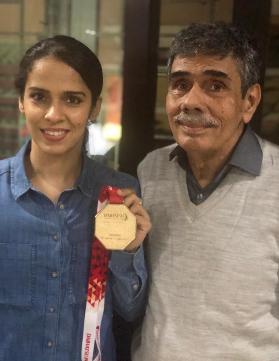 RT @NSaina: Indonesia masters 500 medal 🥇 🙏👍 ... first title of the year  🌸🌸🌸@NHarvir https://t.co/LGUSPxFFIY