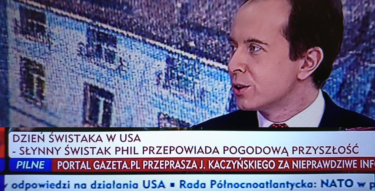 Tymczasem w TVP INFO #dzieńświstaka #wieszwięcej #wiszwiency