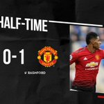 We lead at the break thanks to @MarcusRashford's early goal 👊 #MUFC #LEIMUN