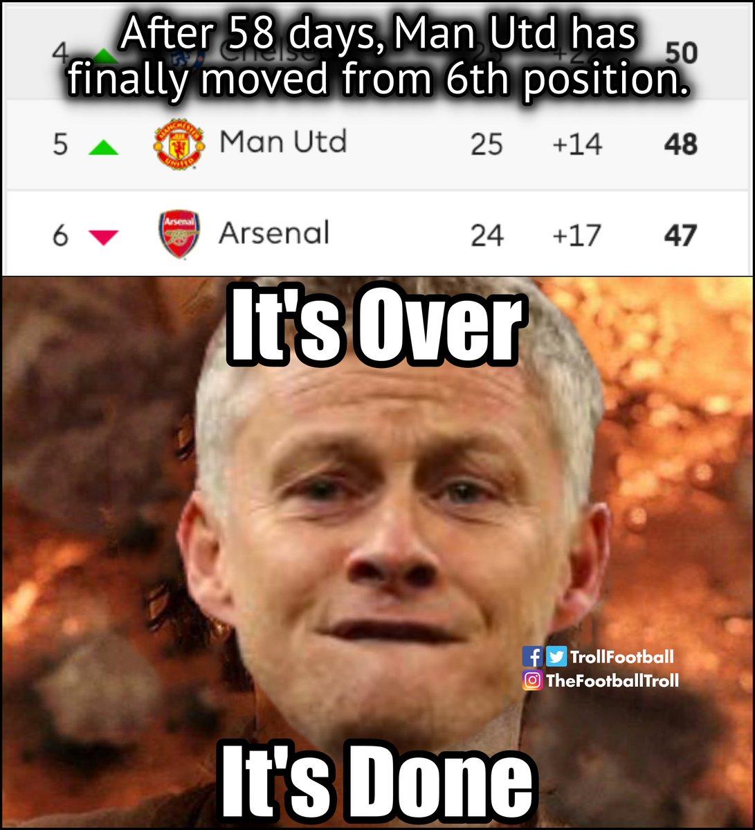 Troll Football V Tvittere Man Utd Fans Right Now