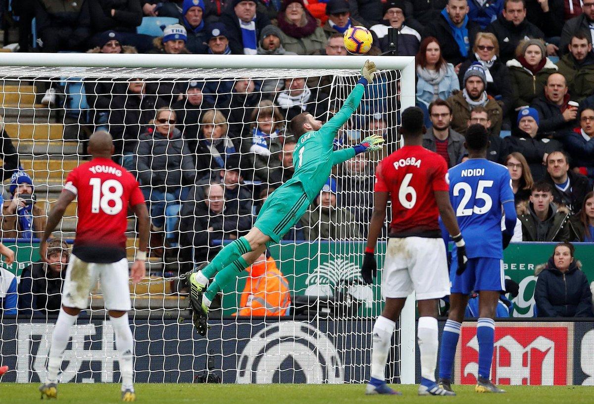 فوز صعب لمانشستر يونايتد خارج الديار امام ليستر بفضل راشفورد 28