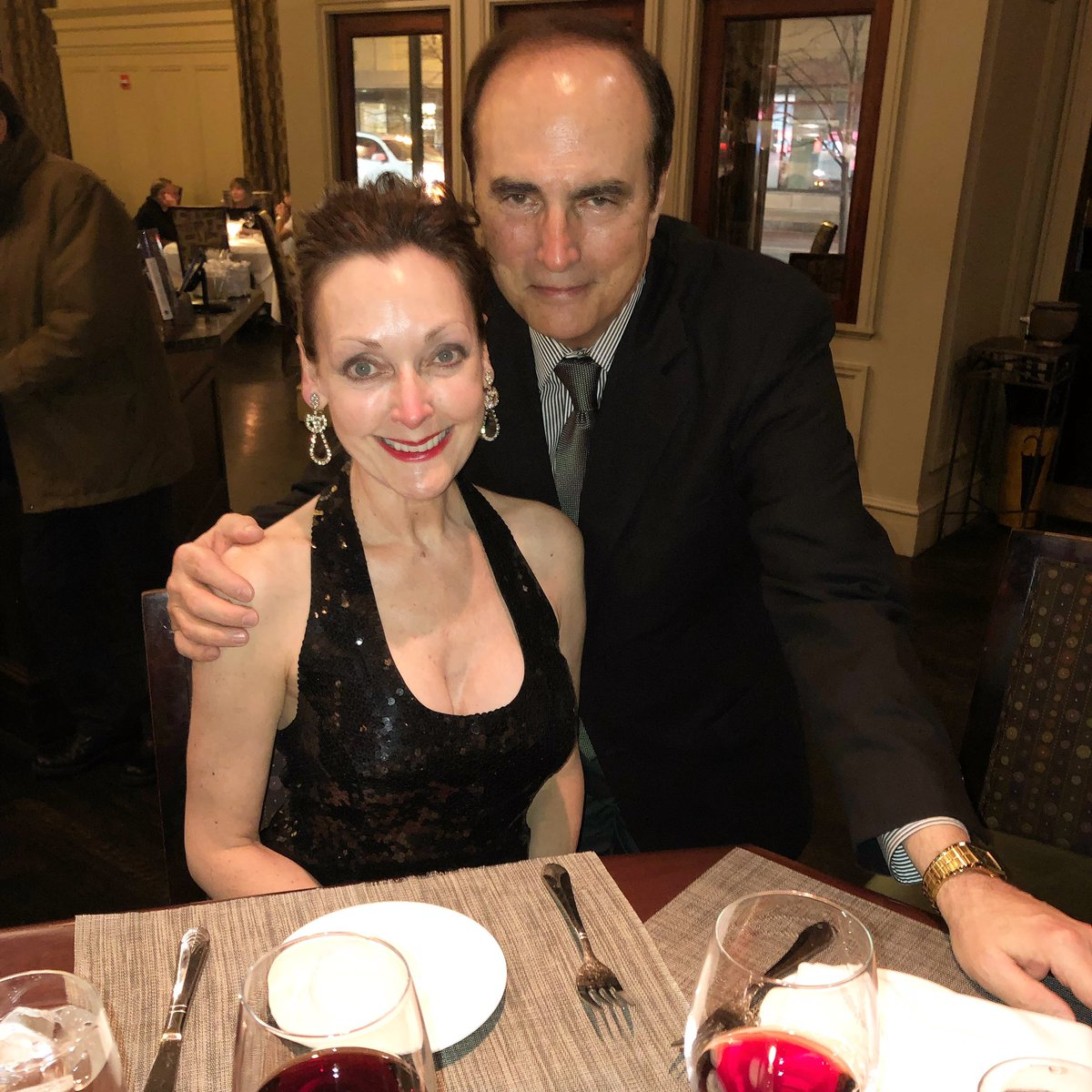 Saturday date night: a shared birthday dinner with my sweetheart (mine was last week; his is next week).