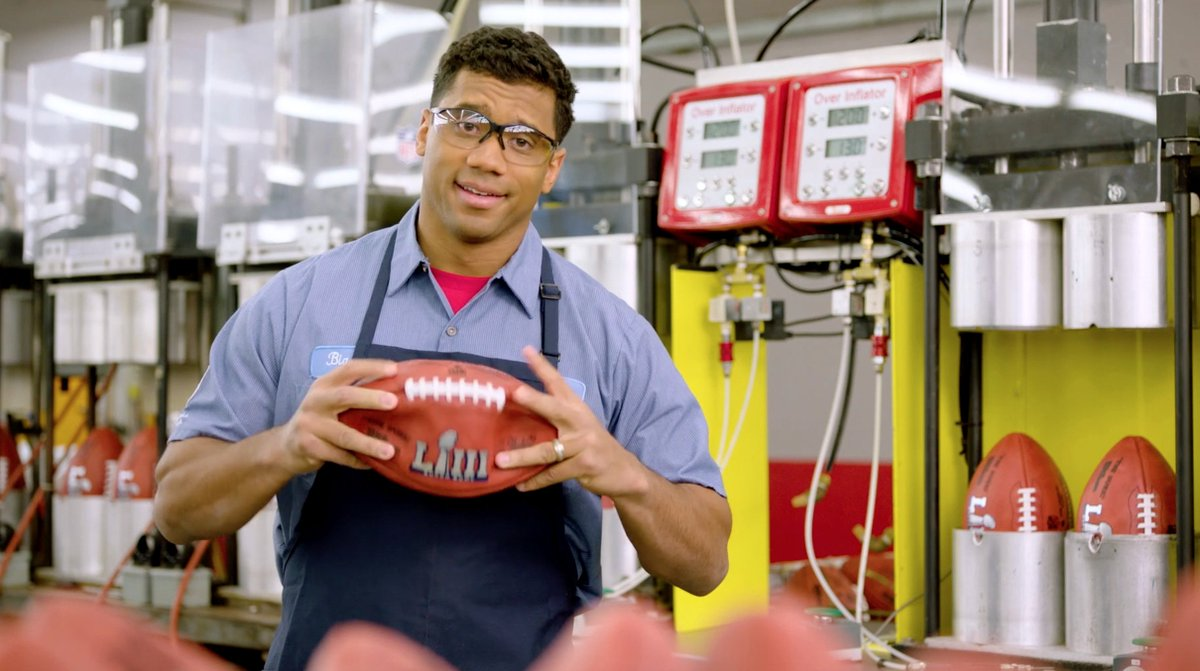 Russell Wilson takes a shot at Patriots in new Wilson commercial