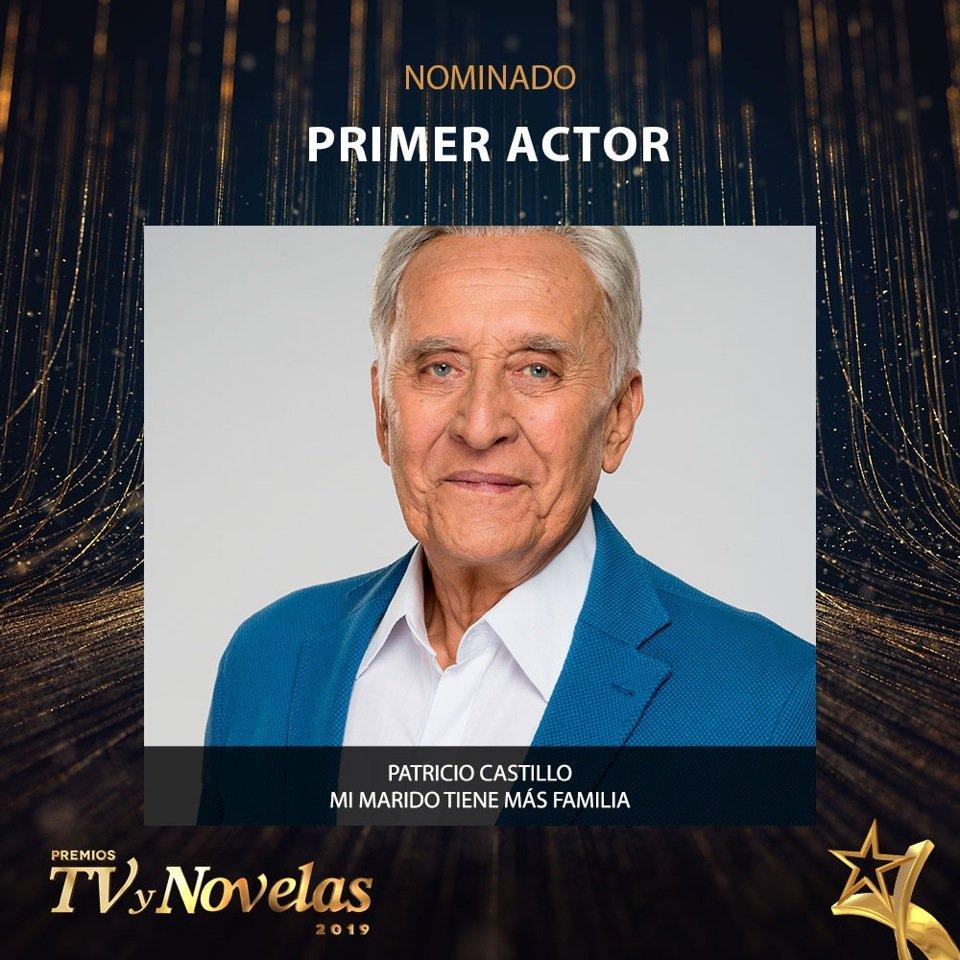 Vota por Patricio Castillo para que este nominado como Primer Actor por su  papel como Massimo Musi de en los pre... | Producción Juan Osor | Scoopnest