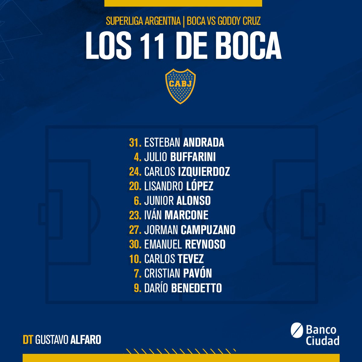 Boca Jrs. Oficial's photo on Benedetto