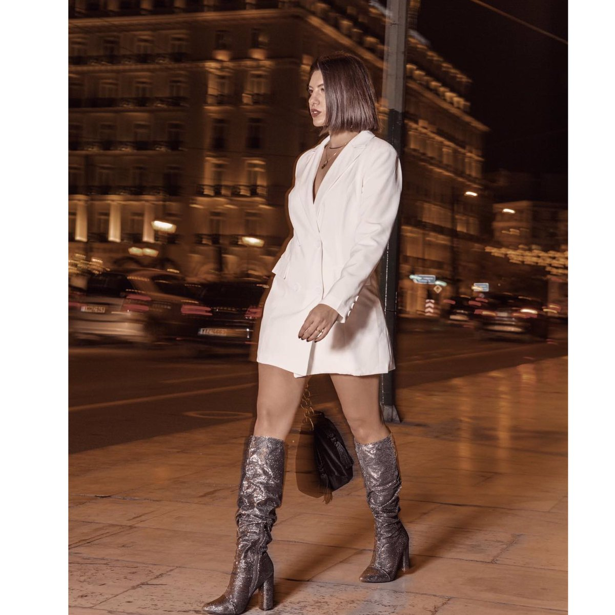 c8170f3b39 ... way to wear the  MIGATO ST1616 pewter metallic boots for tonight s  drinks!  boots  migatolovers  Fashionista Shop online ▻ http   bit.ly ST1616-L17  ...