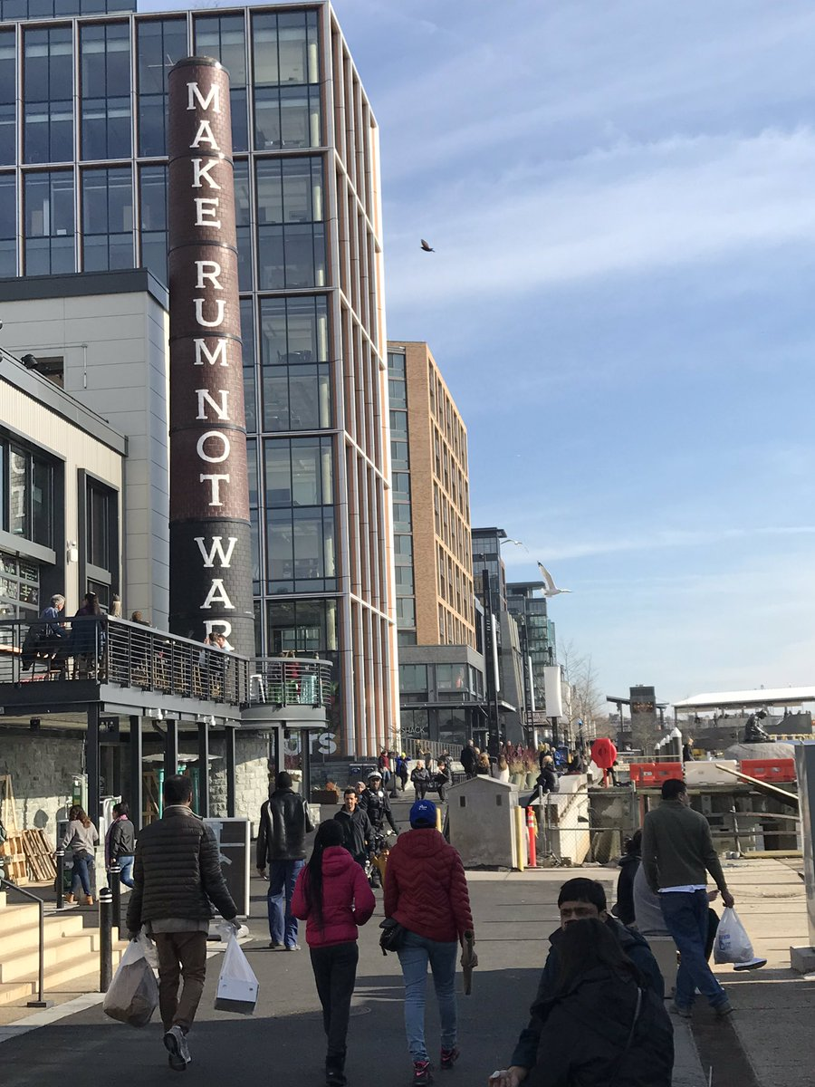 If you haven't checked out the District Wharf area along the Potomac in DC, you should.