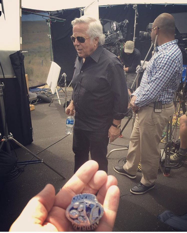 David Gura On Twitter That Time Bob Kraft Asked Me If I Could Hold