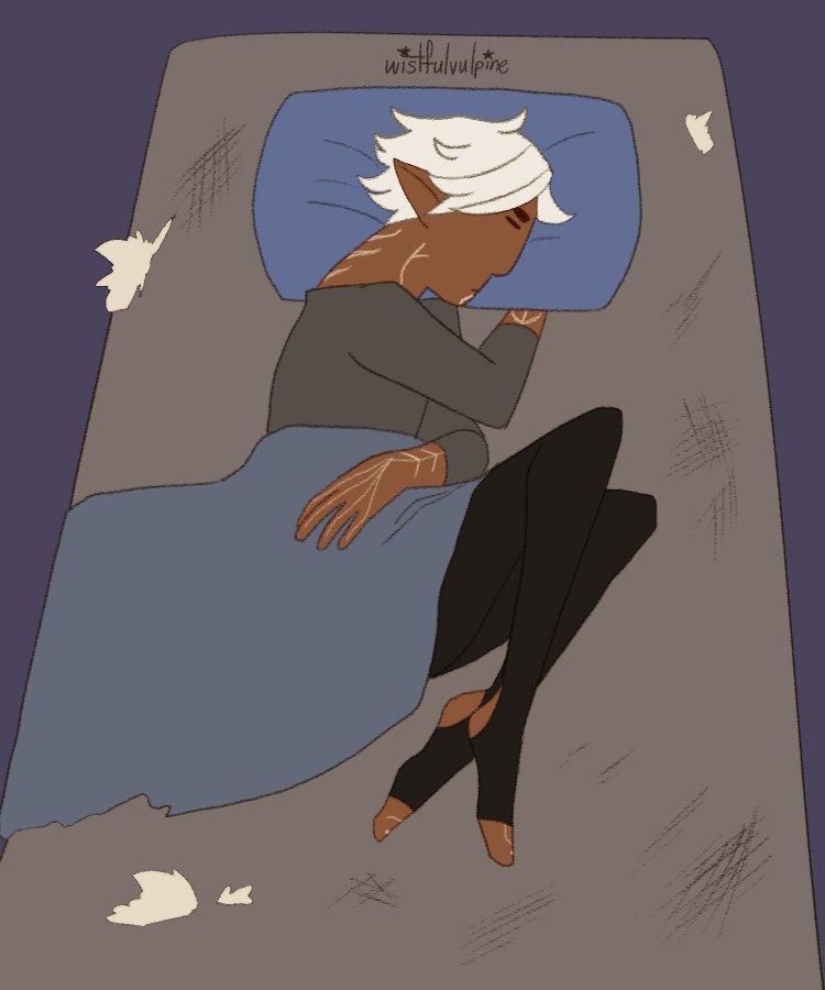 sleeping arrangements #fenhawke