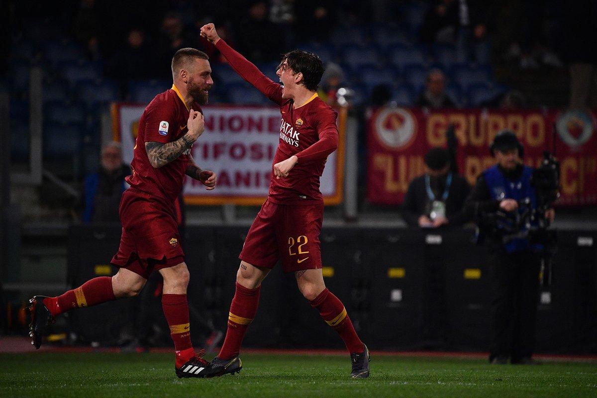 روما 1-1 ميلان : التعادل الإيجابي يحسم القمة بين الذئاب والروسونيري 25