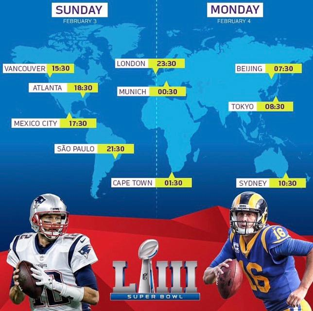 Nothing like waking up early to watch the Super Bowl on Chinese New Year's Eve 🧧🏮🧨🐷 #NFLChina #NFL #SBLIII #YearOfThePig https://t.co/yknl8IFO4s