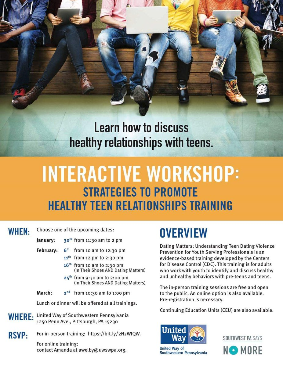 cdc healthy relationships training
