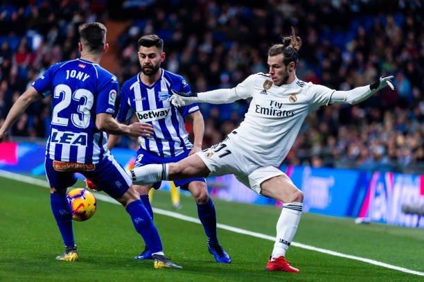 أهداف فوز ريال مدريد على ألافيس