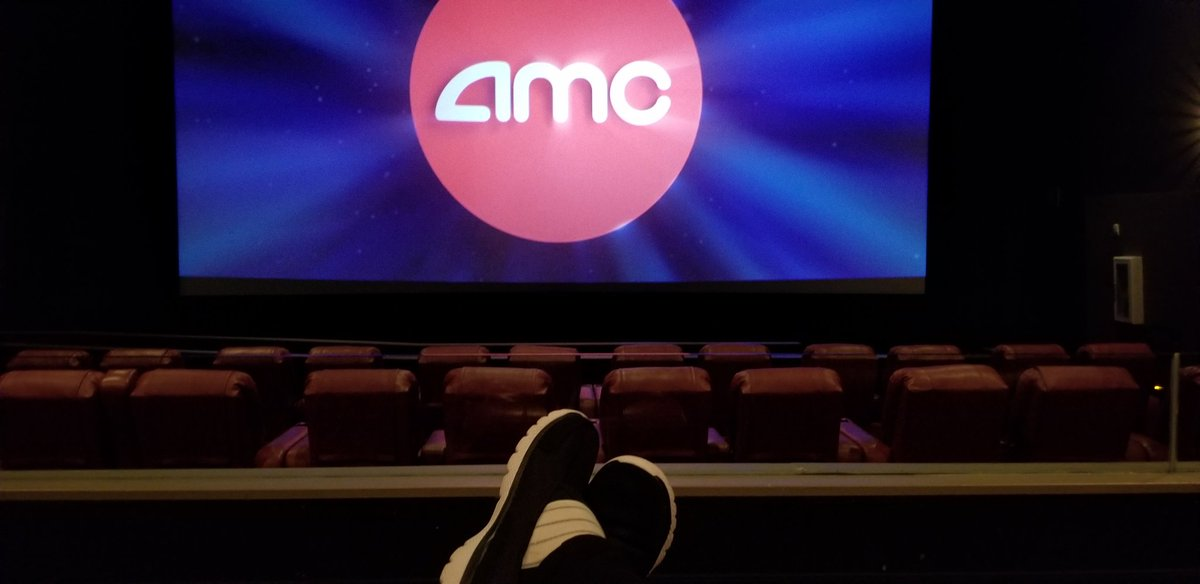 So awesome to have reclining seats and an empty theater so no one sees me crying like a bitch watching @ADogsWayHome 😭🐶