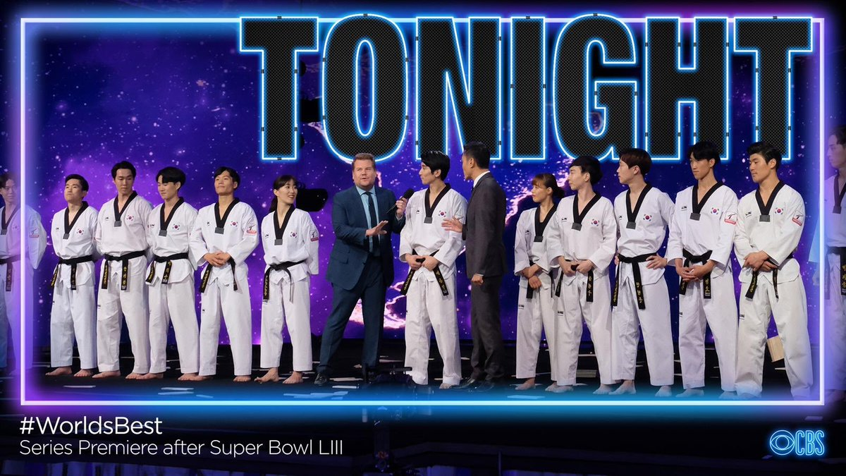 TONIGHT is the season premiere of @WorldsBestCBS after the #SuperBowl. Such an incredible experience for me as an expert on the #WalloftheWorld
