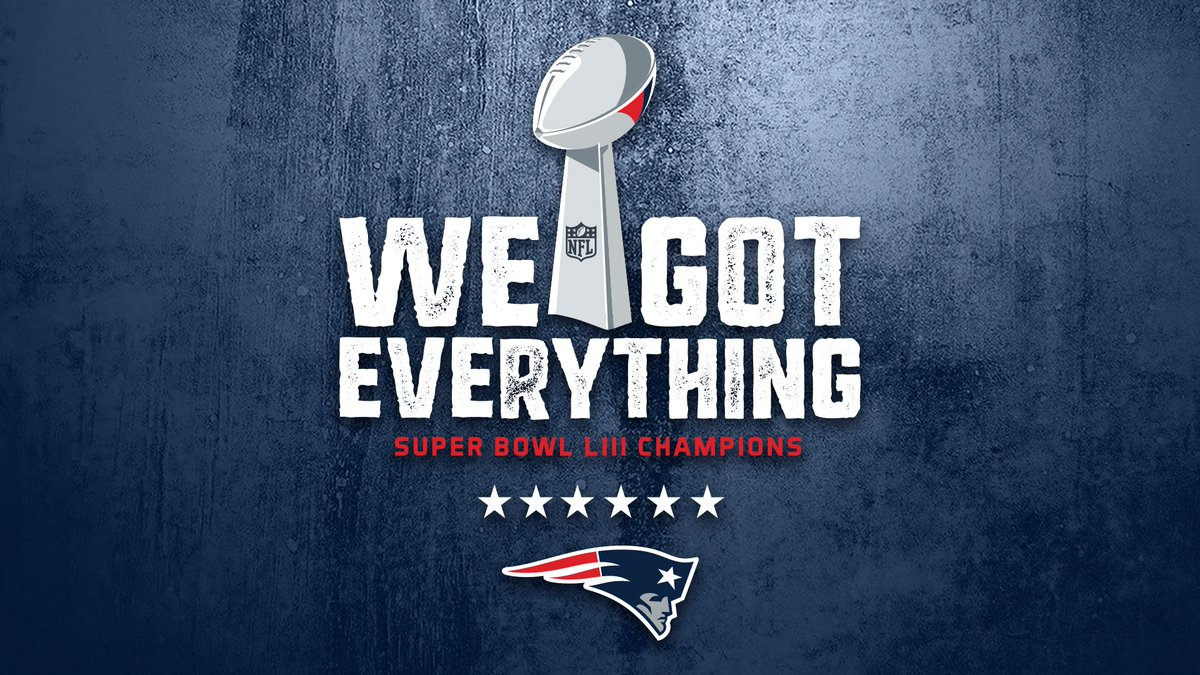 Gave everything we got and now we got everything.  SUPER BOWL CHAMPIONS.