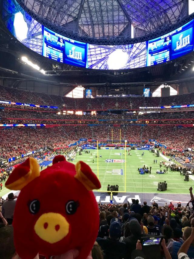 Gameday ready 🏈 🏟🐷 #NFLChina #NFL #SBLIII https://t.co/0LMiByiCG6