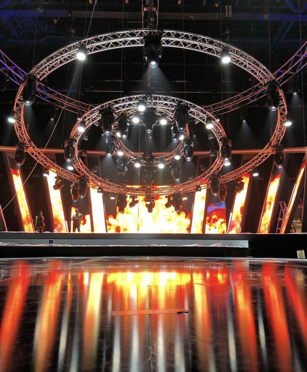 It's #Eurovision #AustraliaDecides this weekend! How incredible is the stage looking!