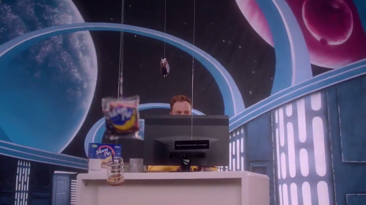 "Here is the commercial called ""Space"" please buy a MoonPie as soon as you can #TheBigThing"