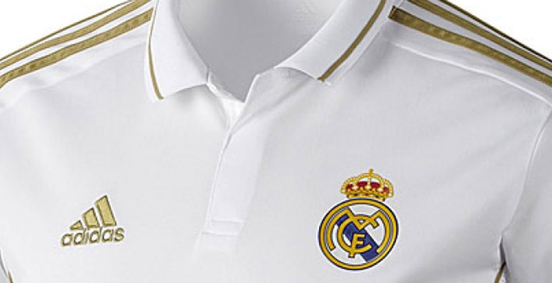 a781ae0504 FootyHeadlines: Real Madrid's kits for next season.. • Home Kit - white and  gold • Away Kit - navy and white • 3rd Kit - mint greenpic.twitter.com/ ...