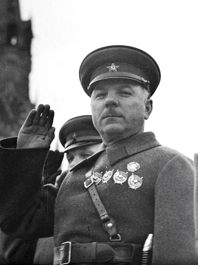 Маршал Советского Союза Климент Ефремович Ворошилов