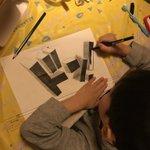 6歳児が作り出すトリックアートがスゴい!将来有望すぎる!