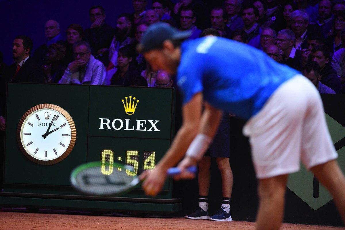 🔊 @ROLEX renews as Official Timekeeper of Davis Cup   More info➡️ http://daviscupfinals.com