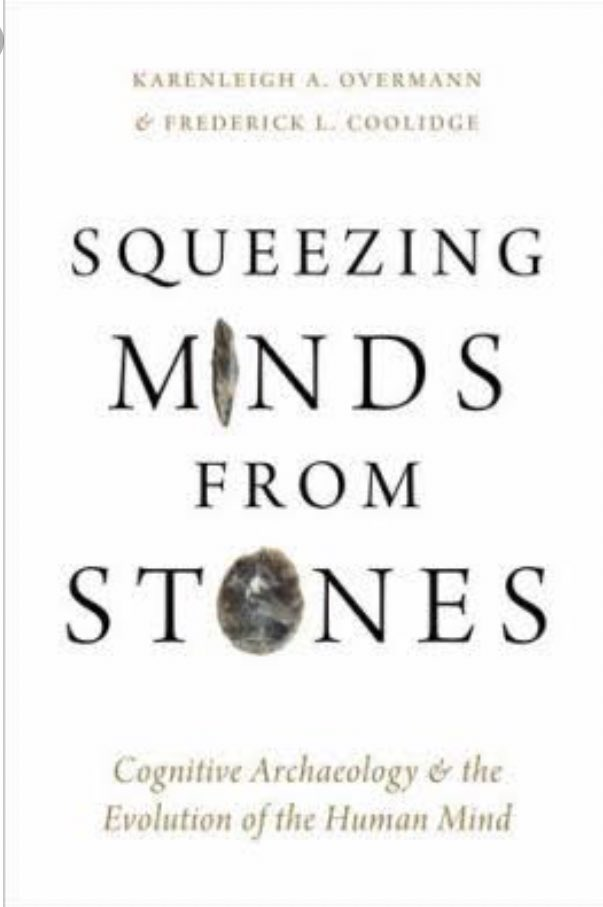 Coming out soon, and including our chapter on hominins interacting with their discarded stuff.  A great collection of papers pushing what ancient tools can tell us about ancient minds https://global.oup.com/academic/product/squeezing-minds-from-stones-9780190854614?cc=gb&lang=en& …