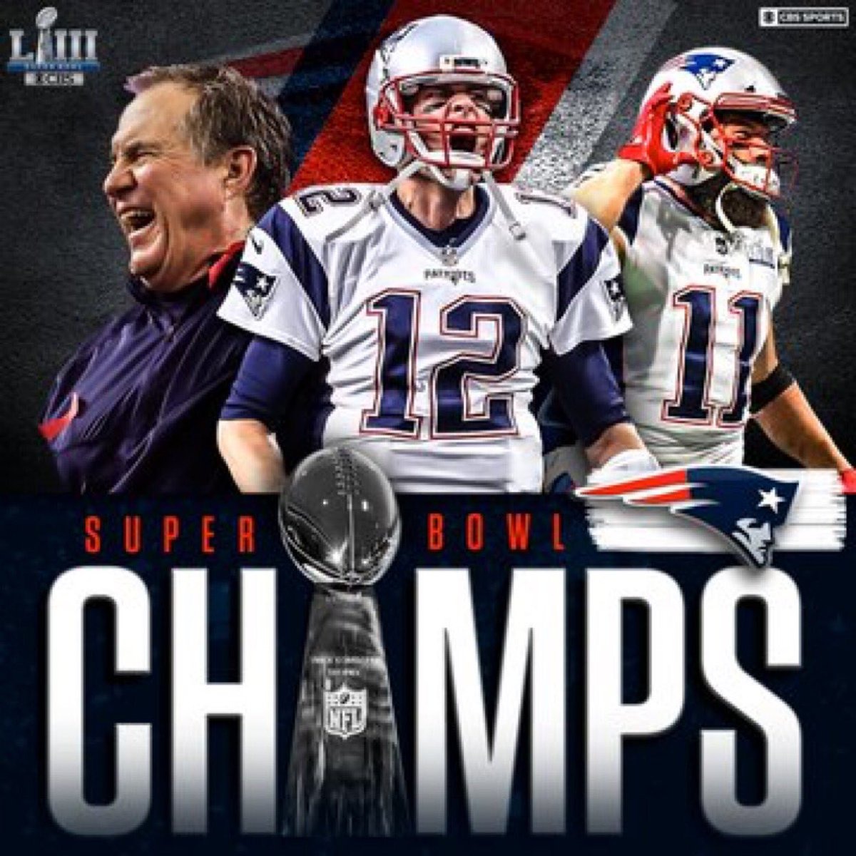 Good Morning loves . Waking up as #SuperBowlChamps on this final #VictoryMonday of the season. This will never, ever get old! #LetsGo #6Rings #SBLlll #cityofchampions <br>http://pic.twitter.com/IuDxt1sWFT