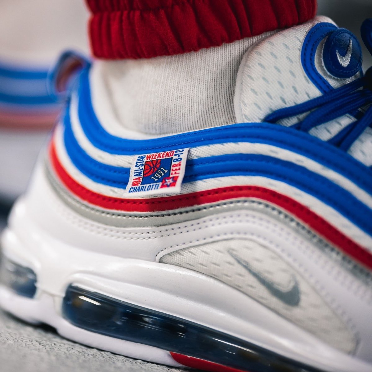 "Nike Air Max 97 ""All-Star Jersey"" releases February 8. 📸  f67f10767"