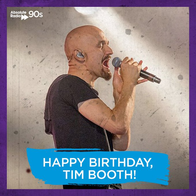 Happy birthday to Tim Booth! What\s your favourite track?