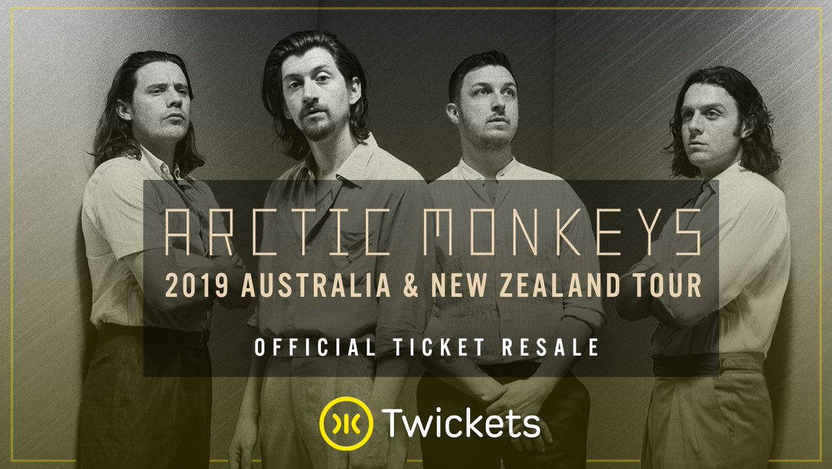 .@ArcticMonkeys are playing Australia and New Zealand really soon! Still looking for tickets? Get them now at face value from our website/app!  🎫 👉 https://t.co/h3KfGKzK0X https://t.co/56M6gZ9CwT