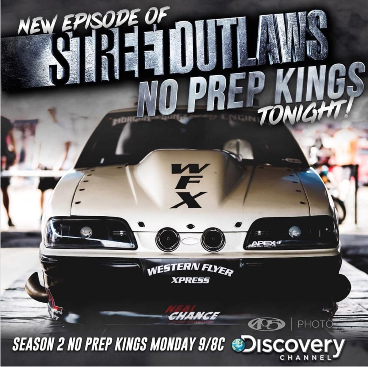 Round 2 at Maple Grove Raceway...at 9/8 Central on Discovery...insider facts and bonus footage too! #streetoutlaws #noprepkings #drivewFX #teamWFX #drivethedream #racing