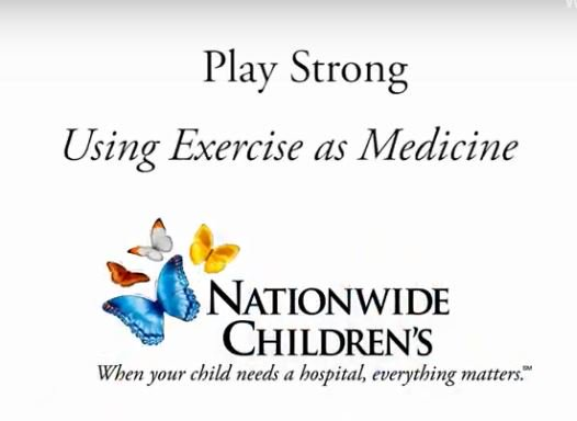 Play Strong is a medically-supervised, wellness program for children/adolescents. It is a fun and exciting program that guides participants to create these healthy exercise habits at home. http://bit.ly/2t4nb19  @nationwidekids #ExerciseIsMedicine