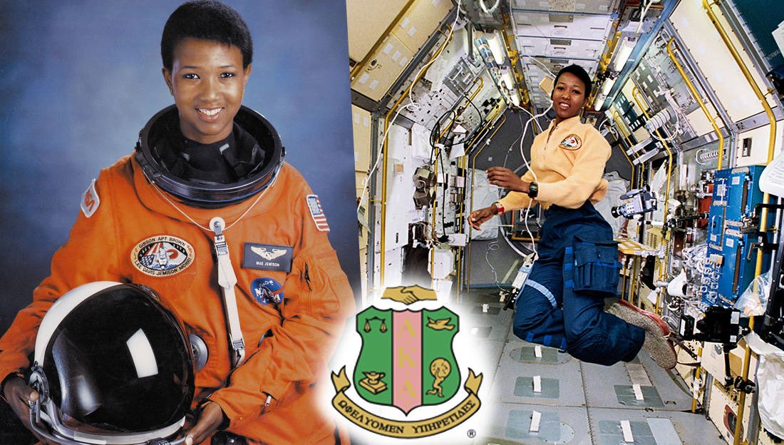 Soror Mae C. Jemison is an American Astronaut and Physician who, on June 4, 1987, became the FIRST African-American woman to be admitted into NASA's astronaut training program #PrettyandEducated pic.twitter.com/x5hL6fHk0r