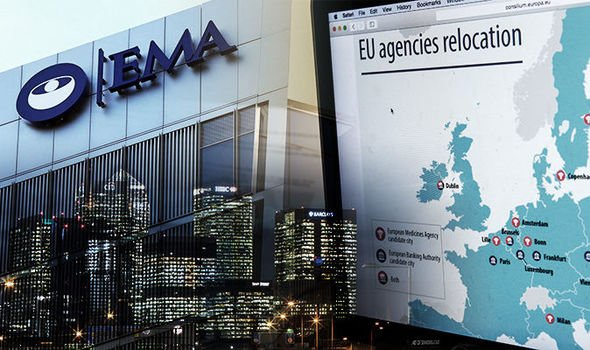 European Medicines Agency (@EMA_News) departs #London ahead of #Brexit.  Read more via @PMLiVEcom: http://ow.ly/pHAY30ntYFZ   #healthcare #supplychain