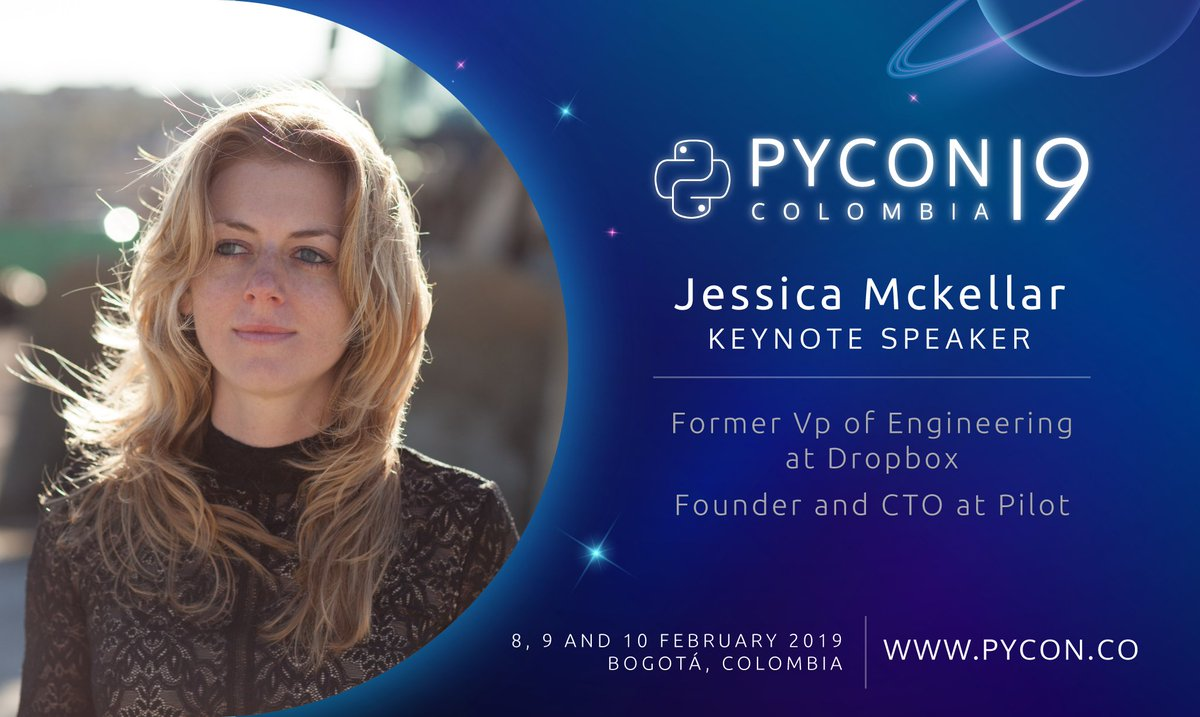 Summer Conference Keynoted By Jessica >> Pycon Colombia On Twitter Were You Wondering About Pycon Colombia