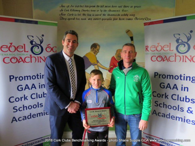 Well done to @sammaguiresGAA on receiving the Gold Standard Benchmarking #2020 Award for best practice in Coaching for the second year running. @dohenygaa