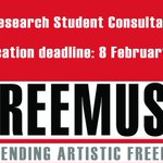 Image for the Tweet beginning: Freemuse is looking for a