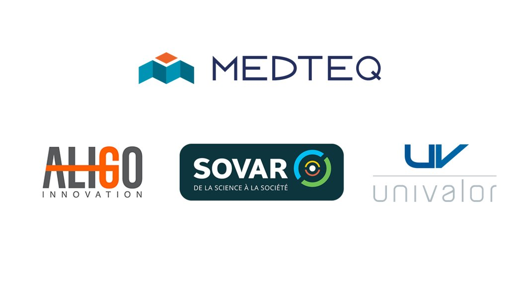 MEDTEQ et les sociétés de valorisation de la recherche universitaire du Québec - @AligoInnovation, @SOVAR et @univalor collaborent en soutien au développement d'#innovations en technologies de la santé. #medtech  Plus d'informations : https://www.medteq.ca/medteq-et-les-societes-de-valorisation-de-la-recherche-universitaire-du-quebec-collaborent-en-soutien-au-developpement-dinnovations-en-technologies-de-la-sante/ …