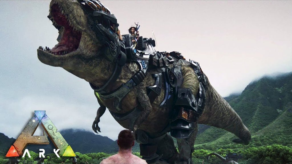 Raptor Smith Sur Twitter Raptor Thinks That It Would Be Super Cool If There Was A Movie Made About Ark Survival Evolved Starting From Survivors Stranded On An Island Progressing Up