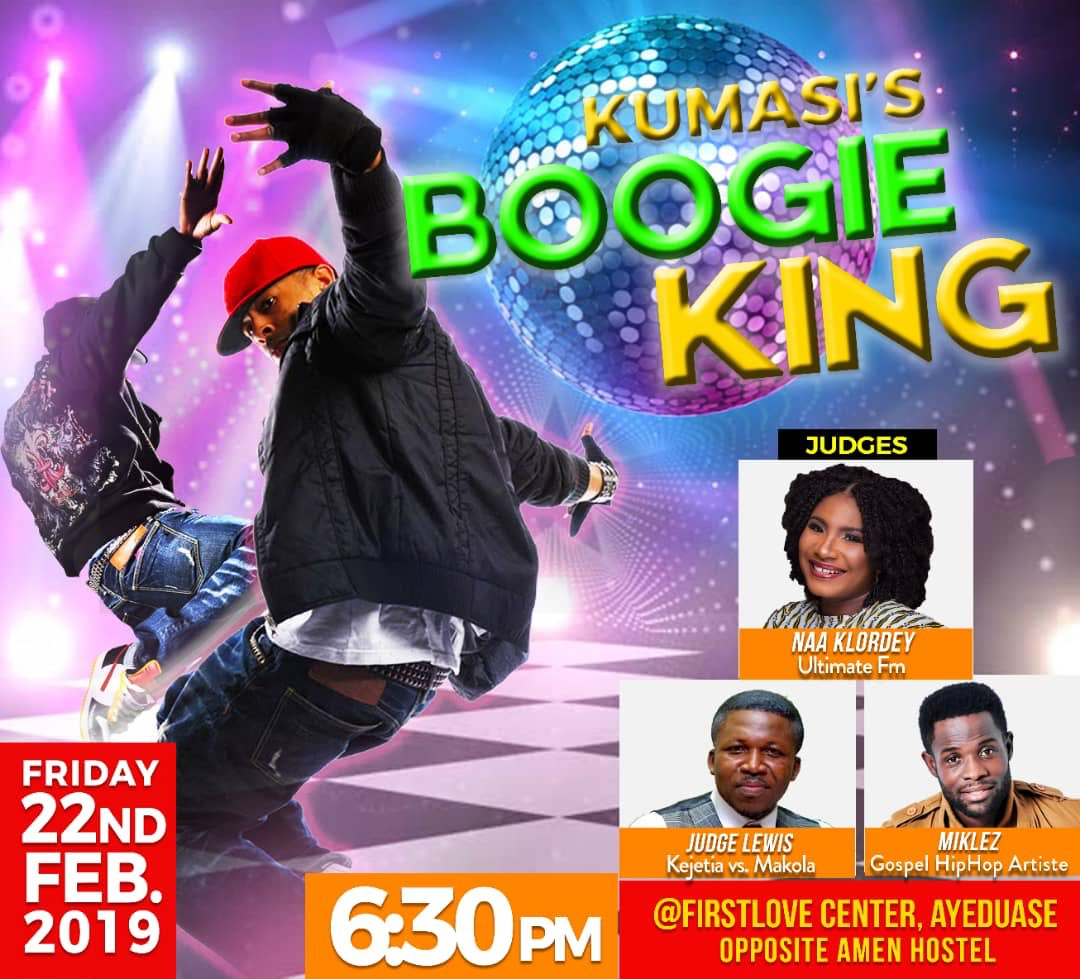 💃🏽KUMASI'S BOOGIE KING  It's real! It's happening live! Right here in Kumasi🔥