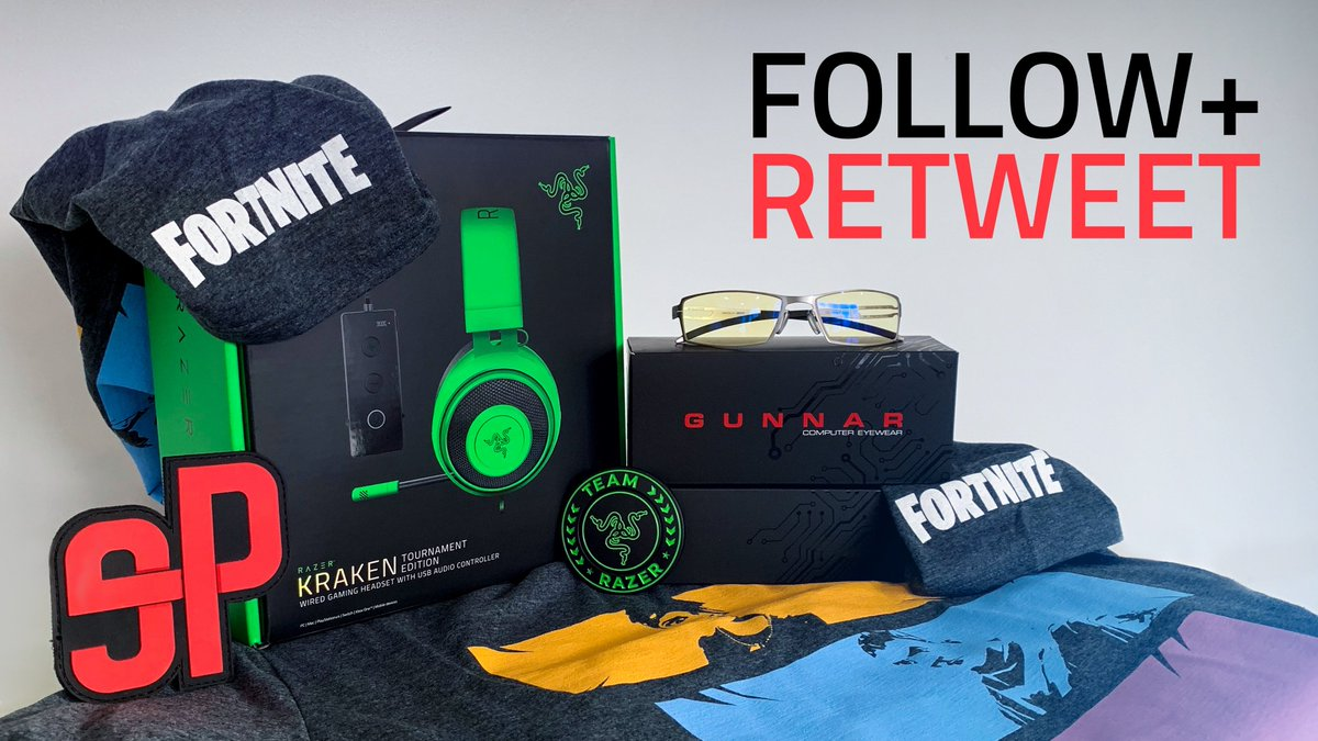 ⚡️ 𝗙𝗢𝗟𝗟𝗢𝗪 & 𝗥𝗘𝗧𝗪𝗘𝗘𝗧 #GIVEAWAY  Grab your chance to win a @TeamRazer Kraken TE, a #Fornite T-shirt, a pair of @GUNNAROptiks glasses and an #ePunks patch!!!   GL & HF 🍀  👋 𝗗𝗼𝗻'𝘁 𝗳𝗼𝗿𝗴𝗲𝘁 𝘁𝗼 𝘁𝗮𝗴 𝘆𝗼𝘂𝗿 𝗙𝗿𝗶𝗲𝗻𝗱𝘀 #prize #competition #winning #win