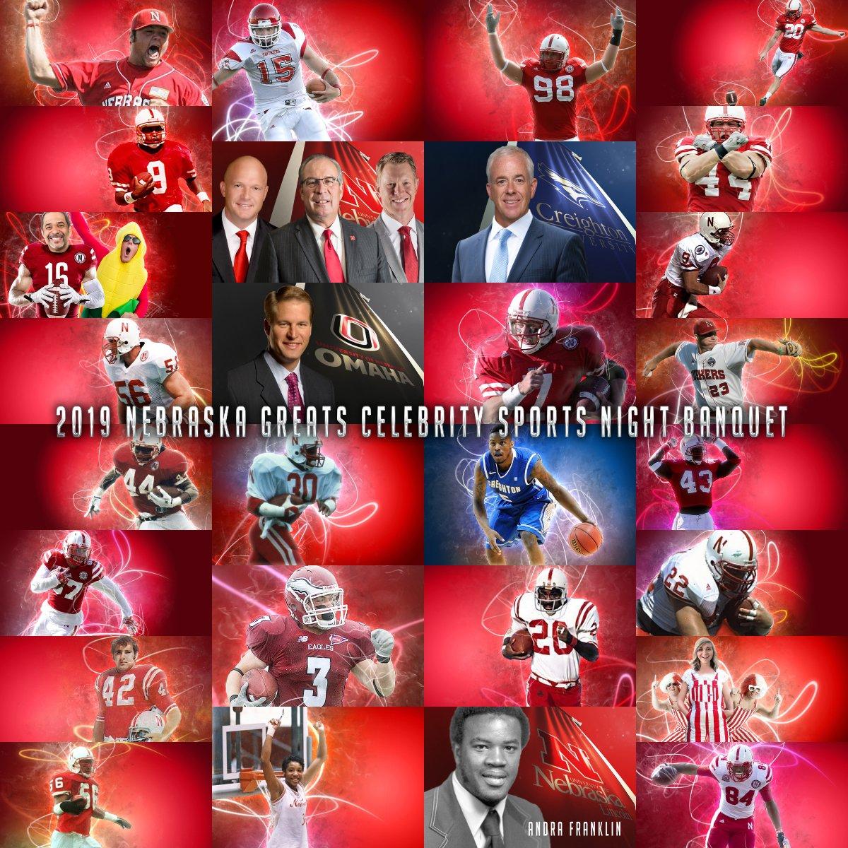 Nebraska Greats Celebrity Sports Night Banquet (@NGFBanquet) | Twitter