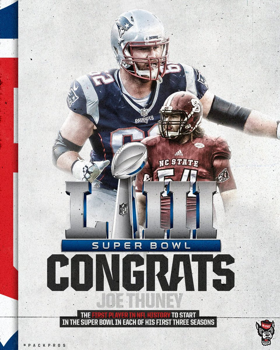 Congrats to our #SBLlll Champion @JosephThuney!!  #1Pack1Goal <br>http://pic.twitter.com/ftMHljXEE9