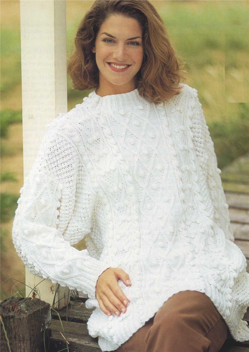 f39baea9e5c5 Womens Tunic Sweater Knitting Pattern PDF Ladies 34 - 36 and 38 - 40 inch  bust